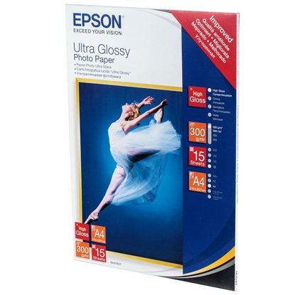 Изображение Бумага Epson 100mmx150mm Ultra Glossy Photo Paper, 50л.